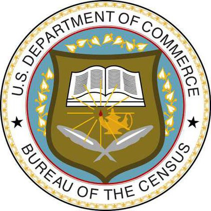 W Seal of the United States Census Bureau