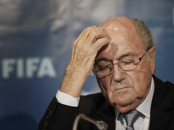 W Soccer FIFA Blatter Heal