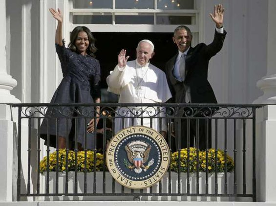 W US Obama Pope Francis Heal