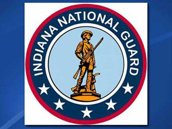 W indiana national guard logo