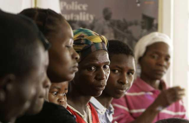 ZIMBABWE VIOLENCE H 5530800