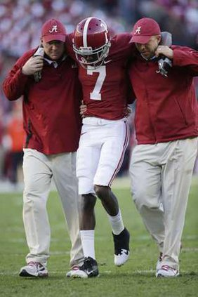 Alabama Receivers Foo Heal