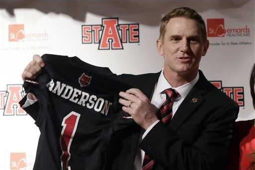 Arkansas State Anders Heal