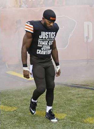 Browns Hawkins T-Shir Heal