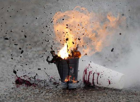 Homemade Explosives Heal