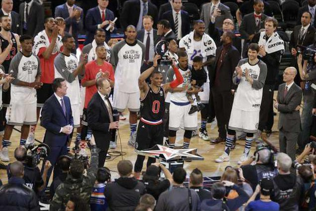 NBA All Star Game Bas Werm