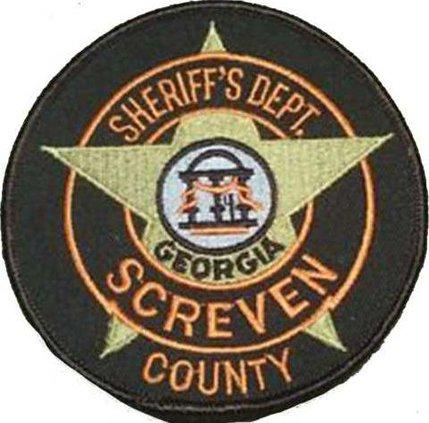 Screven Sheriff badgecutout