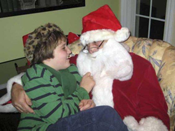 Sensitive Santas W
