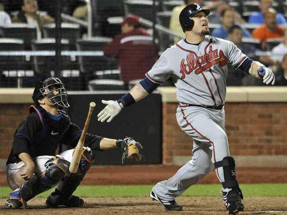 W Braves Mets Baseball Heal