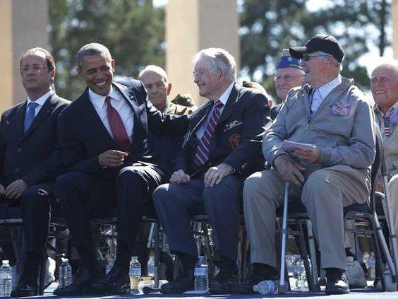 W France Obama D-Day Werm