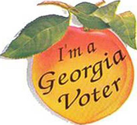 W voter sticker