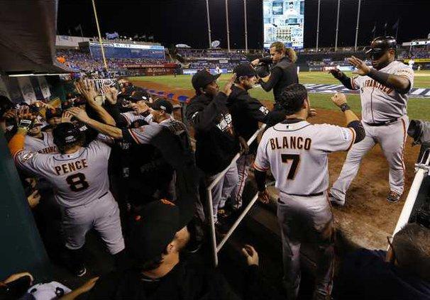 World Series Giants R Heal