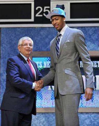 APTOPIX NBA Draft Bas Heal