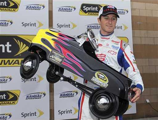 NASCAR Kansas Auto Ra Heal