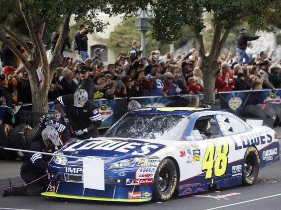 NASCAR Las Vegas Auto Heal