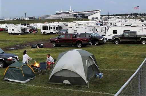 NASCAR Lightning Stri Heal