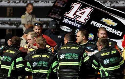 NASCAR Stewart Accide Heal
