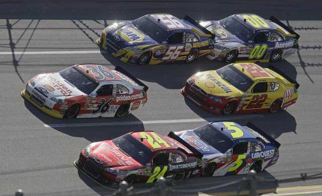 NASCAR Talladega Auto Heal