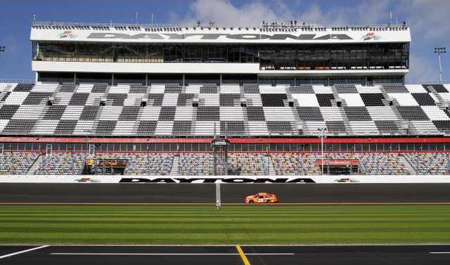 NASCAR Testing Dayton Heal