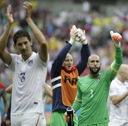 Brazil Soccer WCup US Heal