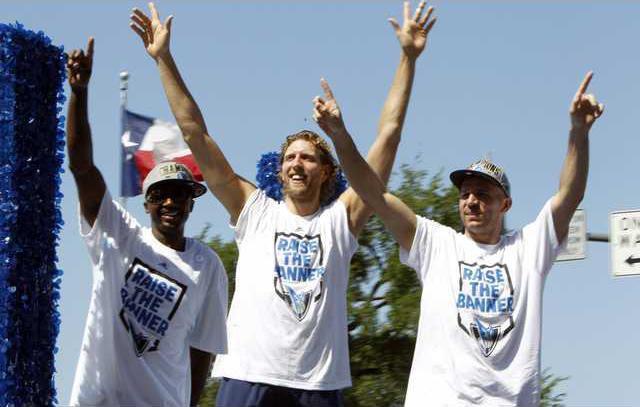 Mavericks Celebration Heal