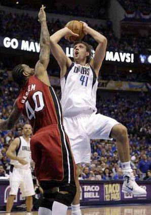 NBA Finals Heat Maver Heal