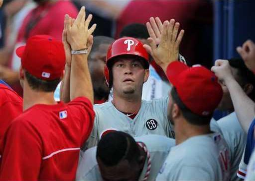 Phillies-Braves Baseb Heal WEB