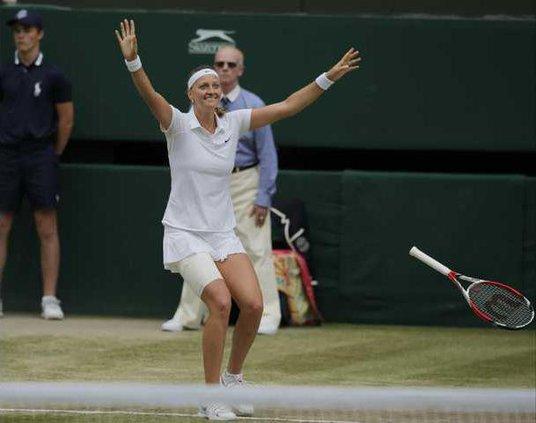 Britain Wimbledon Ten Werm1