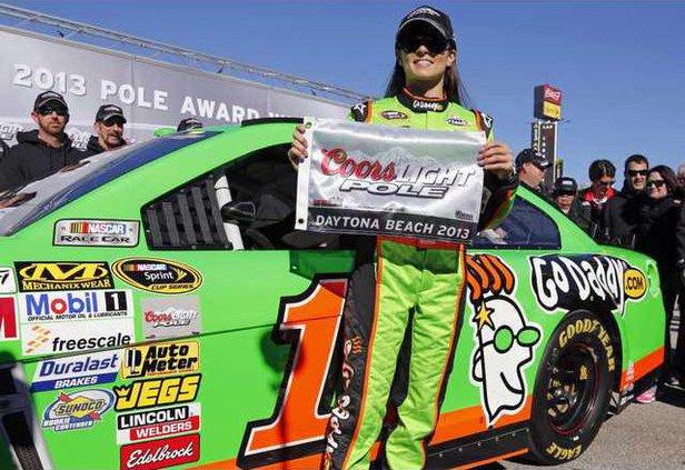 APTOPIX NASCAR Dayton Heal