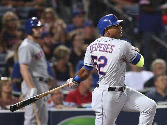 W Mets Braves Baseball Heal 1