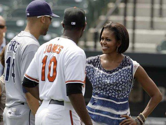 Michelle Obama MLB Ca Heal