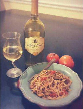 Chardonnay with Summer Vegetables