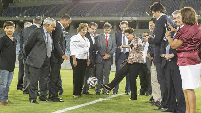World Cup FIFA Visit Heal