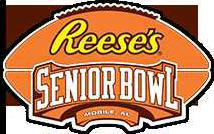 seniorbowl logo orange