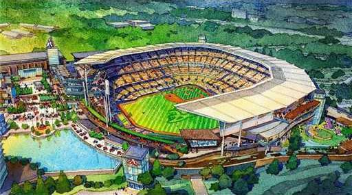 Braves Stadium Baseba Heal 1WEB