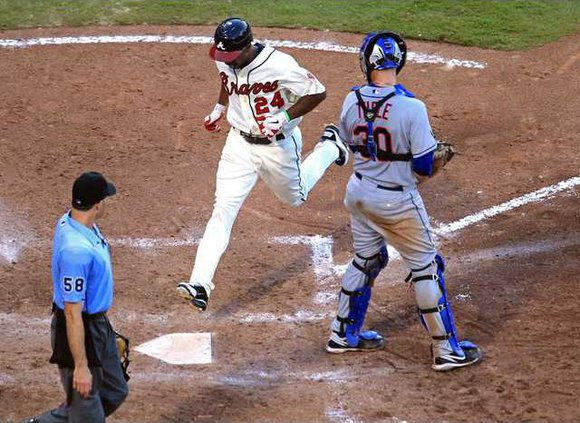 Mets Braves Baseball Heal