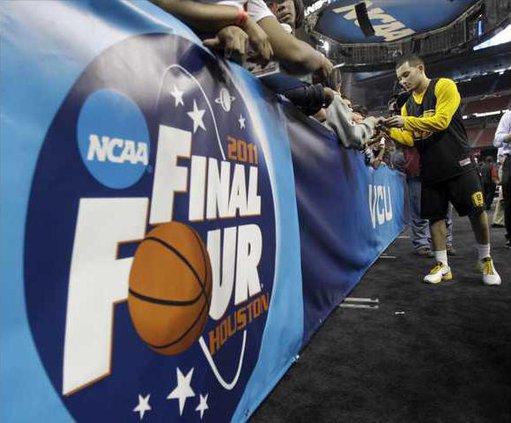 NCAA Final Four VCU B Heal