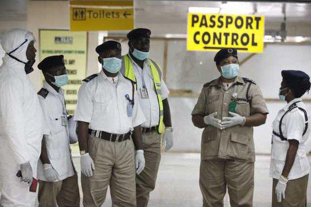 APTOPIX Nigeria Ebola Werm