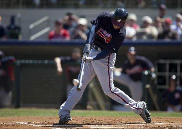 Braves Astros Spring  Heal
