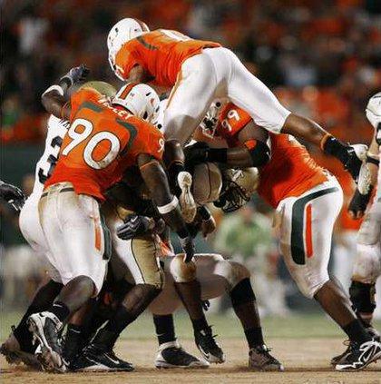 Ga Tech Miami Footbal Heal