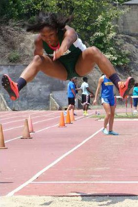 oglesby in long jump