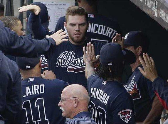 Braves Mets Baseball Heal 2