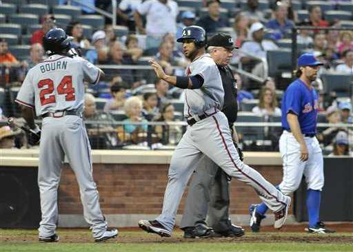 Braves Mets Baseball Heal