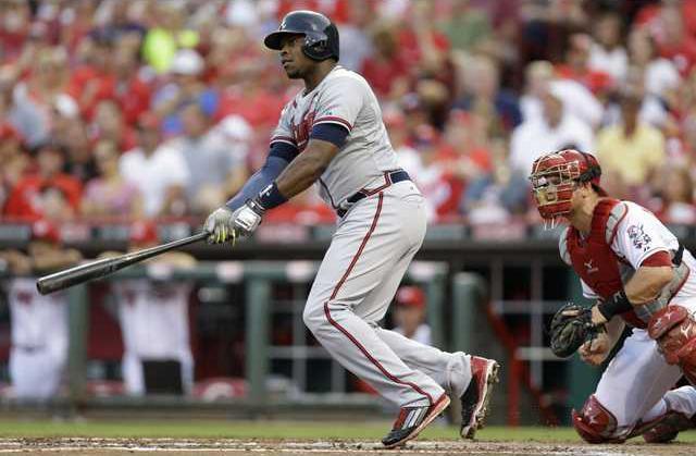 Braves Reds Baseball Heal