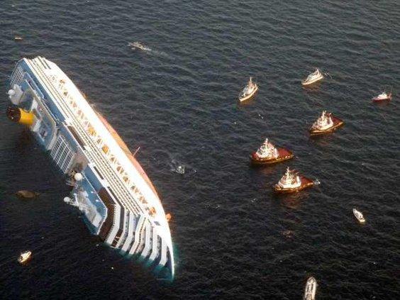 Italy Cruise Aground W
