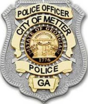 metter police badge