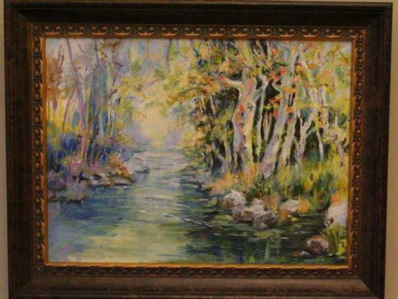 W Barbara Akins Early Morn Ogeechee river