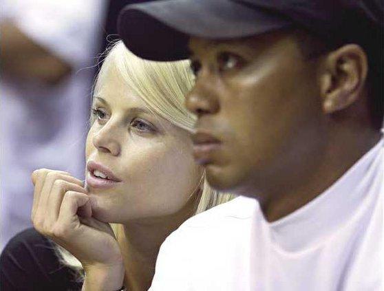 Tiger Woods Elin Heal