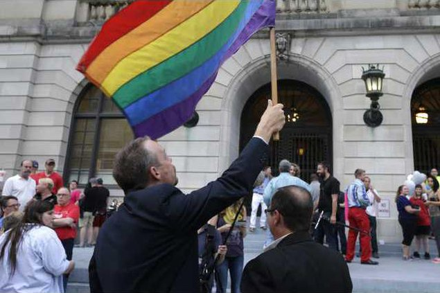 APTOPIX Gay Marriage  Werm