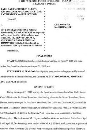Ruling Page 1